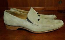 Louis Vuitton Men Tan/Beige Fine Suede Fashion Shoes LV 9, US 9.5-10 *Some Spots