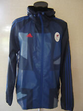 ADIDAS TEAM GB Paralympics Olympic Hooded Jacket Size Small NEW TAGS