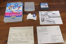 WINTER OLYMPICS       - COMPLET  ----- pour GAME GEAR SEGA