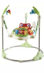 Fisher-Price Rainforest Jumperoo Adjustable Positions 360 Degrees of Play