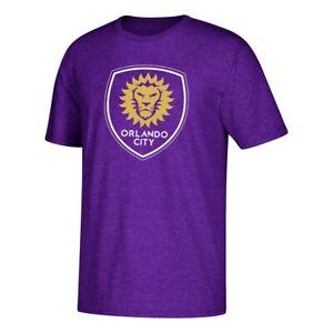 Orlando City SC MLS Adidas Men's Purple Primary 60/40 Short Sleeve T-Shirt