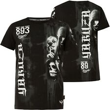 YAKUZA T-Shirt Waiting Death TSB-10020 Black Schwarz T-Shirts