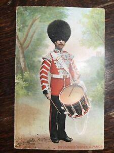 Drummer Scots Guards, Printed Postcard