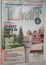 CONDE NAST TRAVELER SEPTEMBER 2012 25TH ANNIVERSARY HILLARY CLINTON BEST TRIPS