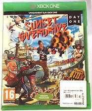 SUNSET OVERDRIVE DAY ONE EDITION Neuf sous blister Jeu XBOX ONE