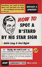 Comment reconnaître un batard par son étoile signe par Susi Rajah, Adele Lang (livre de poche,...