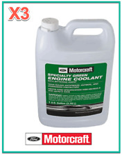 3 X Gallon Engine Speciality Coolant/Antifreeze Motorcraft GREEN Concentrated