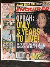 National Enquirer May 11, 2009. Oprah Bea Arthur. Jon & Kate Craigslist Murderer