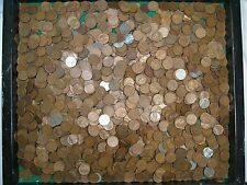 10 lbs (Approx 1450 Ct) Us Lincoln Wheat Pennies 1940-58-Pds w/ a Few Steels. #1