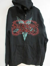 NEW - SHADOWS FALL CONCERT MUSIC BAND ZIP UP HOODIE SWEATSHIRT EXTRA LARGE