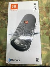 JBL Flip 5 Portable Waterproof Speaker - Gray Stone