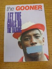 circa 1996 Arsenal: The Gooner - Issue 73, Let The Goals Do The Talking!.  When