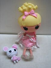 LALALOOPSY CINDER SLIPPERS CINDERELLA COMPLETE W/PET MOUSE FULL SIZE 13""