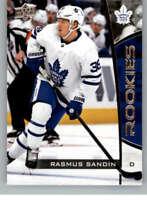 2019-20 UD NHL Rookie Box Set #21 Rasmus Sandin Toronto Maple Leafs Hockey Card