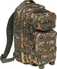 BRANDIT US Cooper medium flecktarn BW Army Assault Pack I Rucksack Wandern