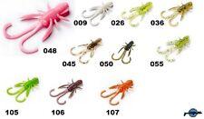 10 señuelo flexible criatura crustáceo cangrejos de río Baffi Fly FISHUP 41mm