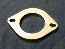 63mm x 8mm 2 bolt Stainless steel universal exhaust flange