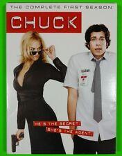 Chuck: The Complete First Season DVD 4-Disc Set