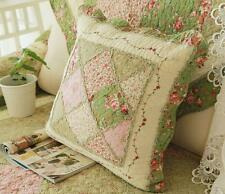Shabby Chic French Country Cottage Floral Sofa Throw Pillow Cushion Cover C