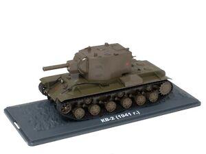 Tank KV-2 URSS (1941) WW2 - 1/43 IXO Deagostini Char Militaire TA05