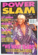 POWERSLAM MAGAZINE / ISSUE 52 / 1998 / RIC FLAIR / NM