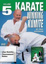 Karate Winning Kumite Sparring #5 Jiyu Kumite, Tournament Rules Dvd P. Godshaw