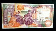 ★★ SOMALIE ● RADAR VARIETE + CHANCE ● BILLET DE 1000 SHILLINGS 1996 ● SUP ★★
