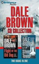 NEW Dale Brown CD Collection: Flight of the Old Dog, Silver Tower by Dale Brown
