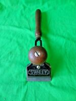 Vintage Stanley No 82 Cabinetmaker Adjustable Scraper Plane Woodworking + Blade