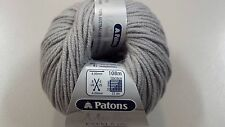 Patons Merino Extra Fine Merino 8 Ply #2103 Grey 50g Extra Fine Merino Wool