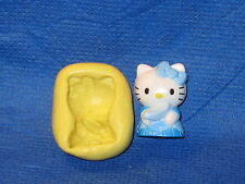 Cinderella Hello Kitty Push Mold Resin Clay Candy Food Safe Silicone #597 Charm