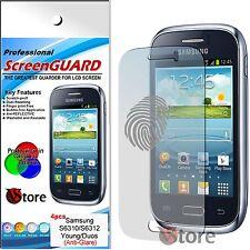 4 Película Matt Para Samsung Galaxy Young Duos S6312 Protector De Pantalla