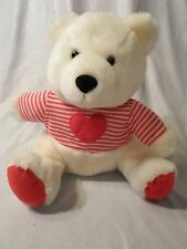 "Hallmark Teddy Bear Love Heart Valentine 11"" Plush Soft Toy Stuffed Animal"