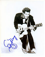 REPRINT - CHUCK BERRY #1 autographed signed photo copy