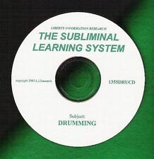 Take DRUM Lessons? Frustrated With Progress? Try THE SUBLIMINAL LEARNING SYSTEM