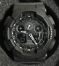 Casio G-Shock Mens Watch GA100-1A1 Black Sport Watch