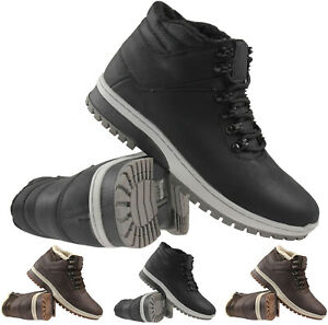 MENS HIKING BOOTS LIGHTWEIGHT WALKING HIKER TRAIL WORK WINTER TRAINERS SHOES