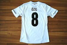 GERMANY NATIONAL TEAM 2012/14 HOME FOOTBALL SHIRT JERSEY #8 ÖZIL 15-16Y 176 cm