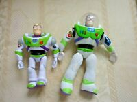 Disney Pixar (2) Toy Story Buzz Lightyear Figures Burger King & Mattel Talks (B1