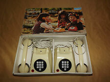 VINTAGE  OLD TOY  1977 MEHANOTEHNIKA MONTGOMERY WARD TELEPHONES
