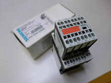 SIEMENS CONTROL RELAY - CONTACTOR  3RH1244-2BB40 6amp 4xN/O and 4xN/C 24DC coils