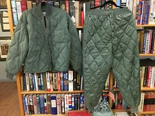 USAF Liners for Flyers Jacket, Med, and USAF Quilted Flight Underwear
