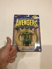 Toy Biz Avengers Earth's Mightiest Heroes LOKI Action Figure / Thor 1997
