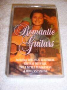 ROMANTIC GUITARS MUSIC CASSETTE 18 TRACKS - FEELINGS, YESTERDAY, WOMAN IN LOVE