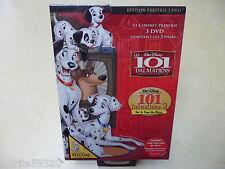 Les 101 Dalmatiens + le N° 2 Walt Disney Neuf à 100% Coffret 3 DVD