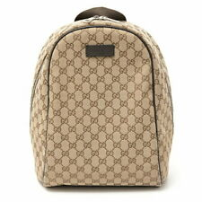 Gucci Gg Backpack Canvas Ghana 449906 Outlet Secondhand _99435