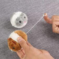 New 1PC cute cat toy plush fur toy shake movement mouse pet Kitten funny movemen