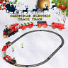 2 Type Christmas Under Tree Classic Express Train Set Traditional Kids Xmas Gift