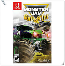 SWITCH Monster Jam: Crush It! Nintendo GameMill Action Games
