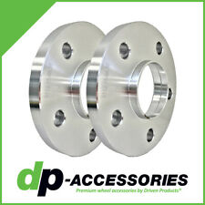 15mm Press-On Hub Centric Wheel Spacers 5x112 66.56mm by DP-Accessories - 2 Pack